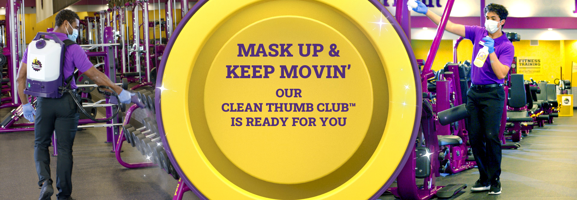 mask up & keep movin' our CLEAN THUMB CLUB™ is ready for you!